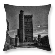 Castle Of Helsingborg Throw Pillow