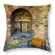 Castle Rest Throw Pillow
