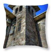 Castle Rock Elementary School Throw Pillow