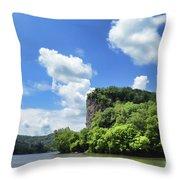 Castle Rock - Pembroke Virginia Throw Pillow