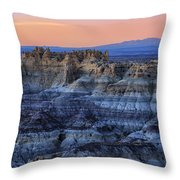 Castle Rock Sunset Throw Pillow
