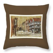 Castle Square Lincoln Throw Pillow