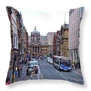 Castle Street - Liverpool Throw Pillow