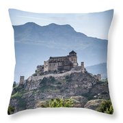 Castle Tourbillon  Throw Pillow