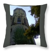 Castle Towers The Trees Throw Pillow