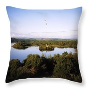 Castleisland Lough Key Forest Park Throw Pillow