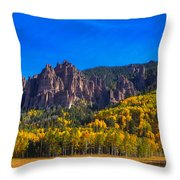 Castles Throw Pillow