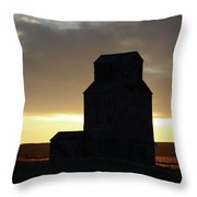 Castles Of The Farmlands Throw Pillow