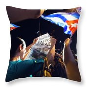 Castro Dead Throw Pillow