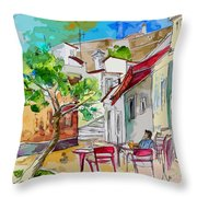 Castro Marim Portugal 01 Bis Throw Pillow