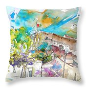 Castro Marim Portugal 10 Throw Pillow