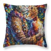 Cat Hug   Throw Pillow