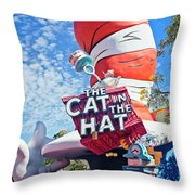 Cat In The Hat Series 2999 Throw Pillow