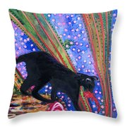 Cat Play Throw Pillow