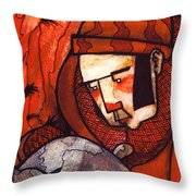 Cat Rescue Throw Pillow