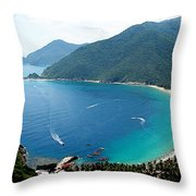 Cata Bay Throw Pillow
