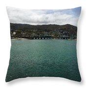 Catalina Bay Throw Pillow