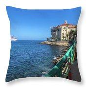 Catalina Casino Throw Pillow