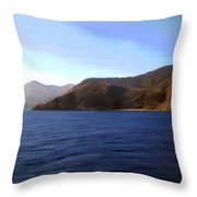 Catalina Shoreline Throw Pillow