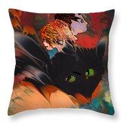 Catalisa Throw Pillow