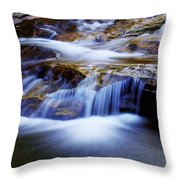 Cataract Falls Throw Pillow