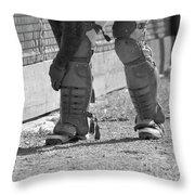 Catcher 2 Throw Pillow
