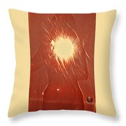 Catching Fire Throw Pillow