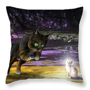 Catechismic Apparition Throw Pillow