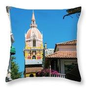Catedral De Cartagena Throw Pillow