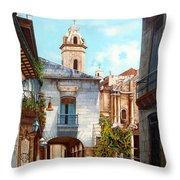 Catedral De La Habana Throw Pillow