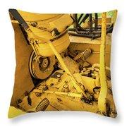Caterpillar D2 Bulldozer 07 Throw Pillow
