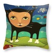 Catfish Throw Pillow