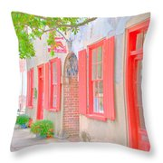 Catfish Row Chs Throw Pillow