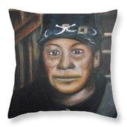 Cathay Williams Throw Pillow