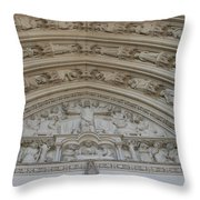 Cathedral 3 Throw Pillow
