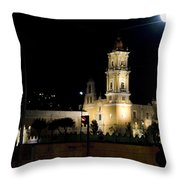 Iglesia Del Carmen Throw Pillow