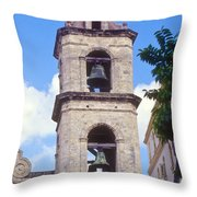 Cathedral Bells Throw Pillow