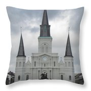 Cathedral Church Throw Pillow