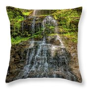 Cathedral Falls 3 Throw Pillow