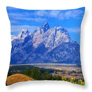 Cathedral Group Impressions Throw Pillow