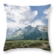 Cathedral Group No.1 Throw Pillow