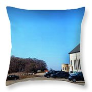Cathedral In The Country Throw Pillow
