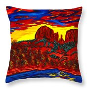 Cathedral Magic Throw Pillow