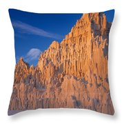 Cathedral Mounds Throw Pillow