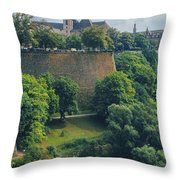 Cathedral Notre-dame Throw Pillow