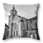 Cathedral Of Portsmouth  Throw Pillow