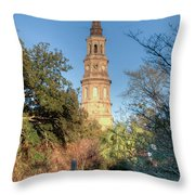 Cathedral Of St. John The Baptist Throw Pillow