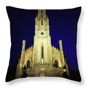 Cathedral Of The Assumption, Carlow, Co Throw Pillow