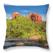 Cathedral Rock 313 Throw Pillow