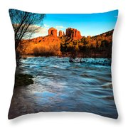 Cathedral Rock 8 Throw Pillow